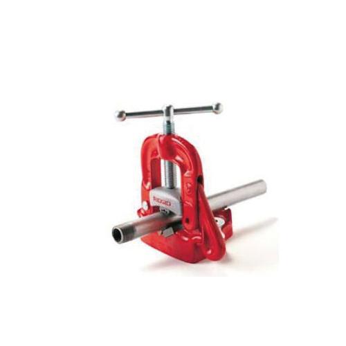 RIDGID® 40100 Model 25A Bench Yoke Vise, Hardened Alloy Steel Jaw