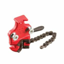 RIDGID® 40175 Bottom Screw Bench Chain Vise, 1/8 to 2 in Pipe