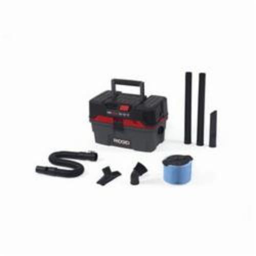 RIDGID® ProPack® 50318 Wet or Dry Vac, 9 A, 4.5 gal Tank, 5 hp Power Rating