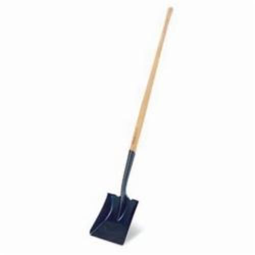 RIDGID® 50487 171FG Shovel, 48 in L Handle, 12 in L x 9-3/4 in W Blade, Steel Blade, Fiberglass Handle