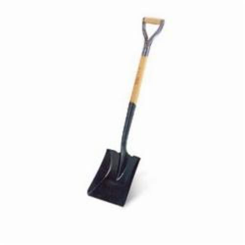 RIDGID® 52315 173 Shovel, 27 in L Handle, 12 in L x 9-3/4 in W Blade, Steel Blade