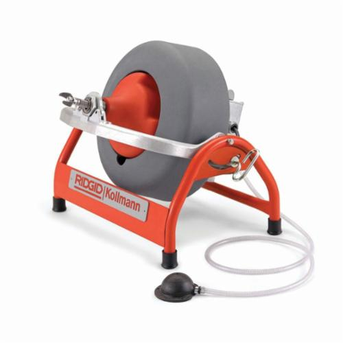RIDGID® 53107 K-3800 Drum Drain Cleaning Machine Kit, 3/4 to 4 in Drain Line, 1/10 hp, 115 VAC, Polyethylene Housing
