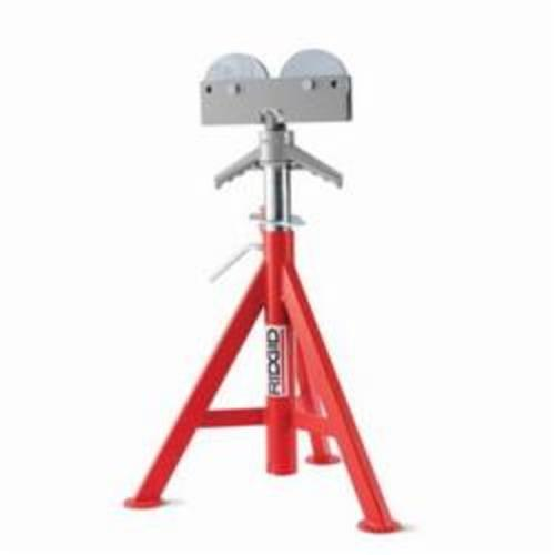 RIDGID® 56667, RJ-98 Low Head Roller Pipe Stand, 12 in Pipe, 1000 lb Load
