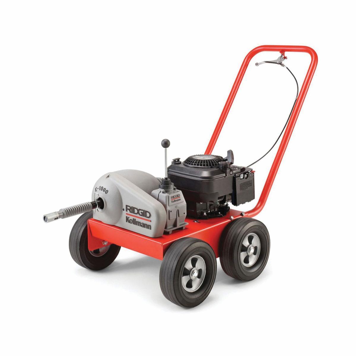 RIDGID® 59175 K-1000 Rodder Drain Cleaning Machine, 8 to 24 in Drain Line, 500 ft Max Run, 6 hp