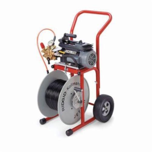 RIDGID® 62687 KJ-1750 Water Jetter Machine, 2 hp, 115 VAC