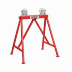 RIDGID® 64642, AR99 Adjustable Roller Stand With Steel Wheels, 36 in Pipe, 2500 lb Load