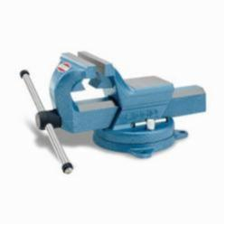 RIDGID® 66987 F-45 Forged Vise With Base, Serrated Jaw, 4.7 in Jaw Opening, 4-1/2 in W Jaw, 3 in D Throat