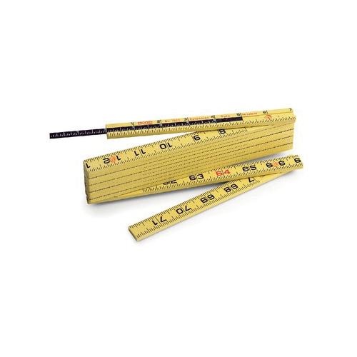 RIDGID® 73370 Model 1619F Folding Rule, 6 ft L, Fiberglass