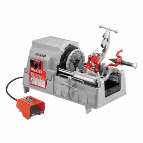 RIDGID® 96497 535 Kit Threading Machine Kit, 1/2 to 2 in Pipe, 1/4 to 2 in Bolt, 115 VAC, 1/2 hp, 36 rpm Speed