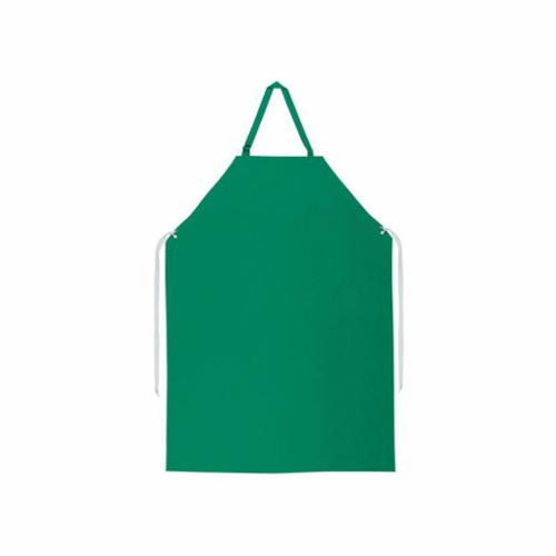 River City 368R5 Dominator™ Heavy Duty Work Apron, Polyester/0.45 mm PVC, 4 ft L x 35 in W, Tie Closure, Resists: Abrasion, Puncture and Tear