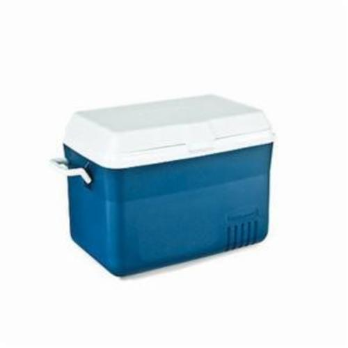 Rubbermaid® 184802 Insulated Portable Chest Cooler, 48 qt, Red Body