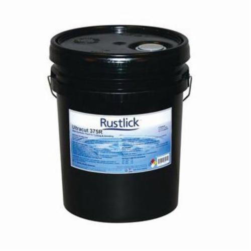Rustlick™ 74905 ULTRACUT® 375R Heavy Duty Metalworking Coolant, 5 gal Pail, Characteristic, Liquid, Translucent Amber