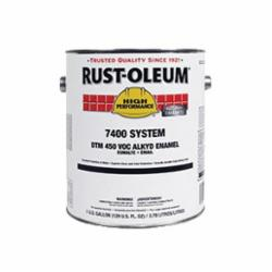 Rust-Oleum® 470402 7400 System 1-Component High Performance Alkyd Enamel, 1 gal, Liquid, Aluminum, 200 to 390 sq-ft/gal