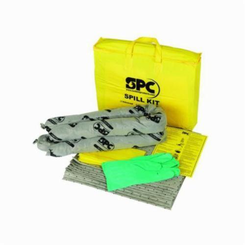 SPC® ALLWIK® SKA-PP Economy Portable Spill Kit, 5 gal Bag, Fluids Absorbed: Universal