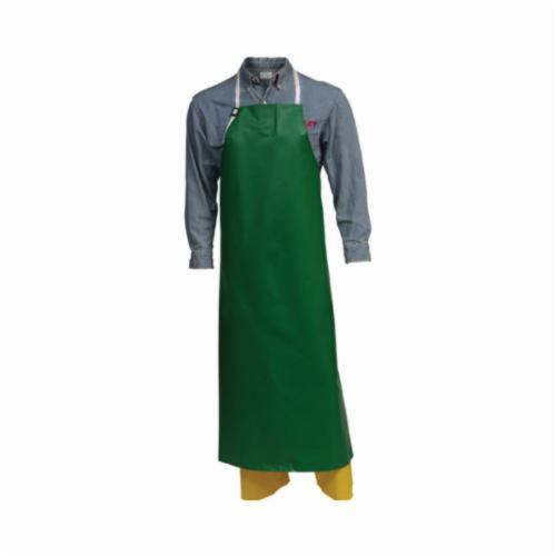 Tingley Safetyflex® A41008.MD Bib Apron, 17 mil Polyester, 4 ft L x 38 in W, Resists: Industrial Acid, Chemical, Caustic and Flame