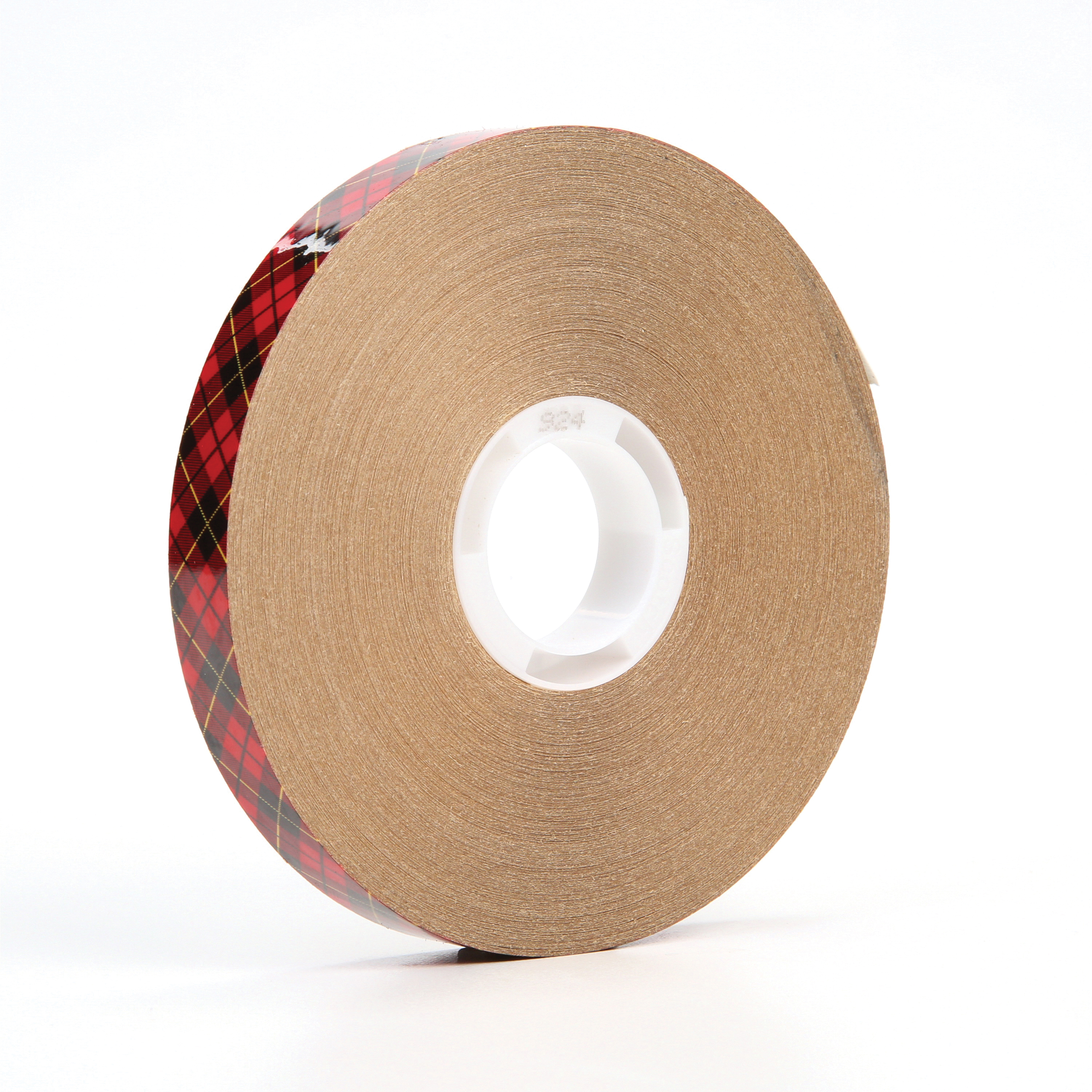 "3M™ 924-1/2""x60yd Adhesive Transfer Tape, 60 yd L x 1/2 in W, 2 mil THK, 2 mil 400 Acrylic Adhesive, Clear"