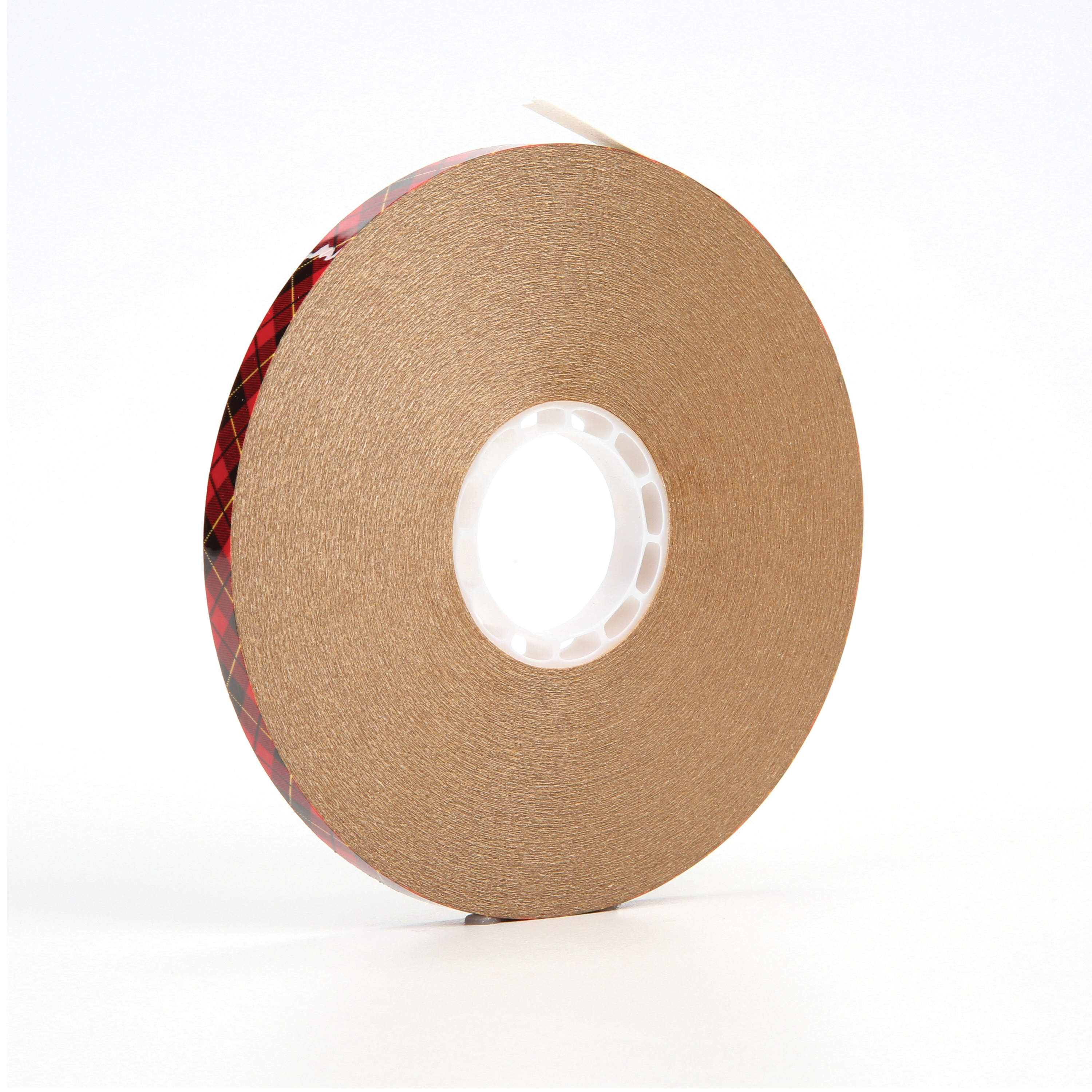 3M™ 021200-38442 Adhesive Transfer Tape, 60 yd L x 1/4 in W, 2 mil THK, 2 mil 400 Acrylic Adhesive, Clear