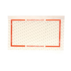 Scotch® 021200-62224 Pouch Tape Pad, 6 in L x 10 in W, Polypropylene, Clear On Orange
