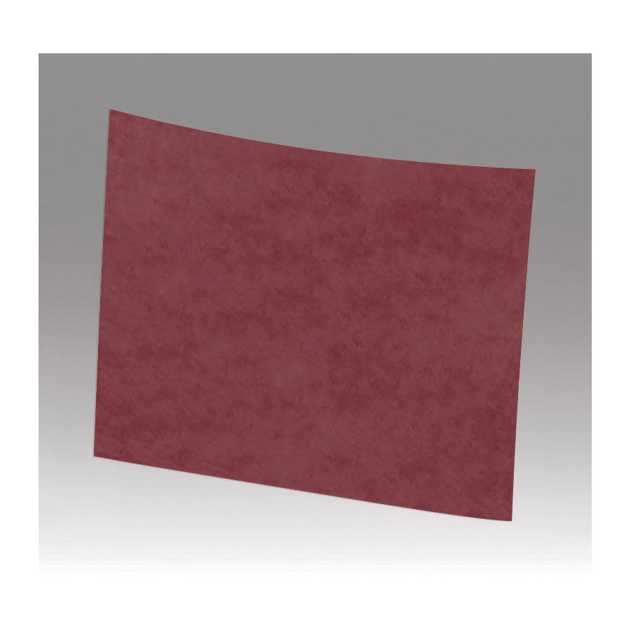 Scotch-Brite™ 048011-00159 CF-SH Waterproof Non-Woven Sanding Sheet, 11 in L x 9 in W, Medium Grade, Aluminum Oxide Abrasive