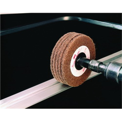 3M™ Roloc™ 048011-14594 C5-ZR Cut and Polish Cut and Polish Wheel, 3 in Dia Disc, Medium Grade, Aluminum Oxide Abrasive, Type 2 Attachment