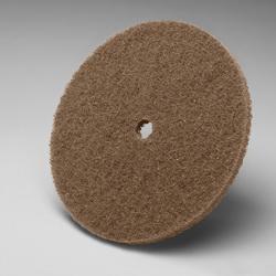 Scotch-Brite™ 048011-00837 CP-DC Cut and Polish Disc, 12 in Dia Disc, Medium Grade, Aluminum Oxide Abrasive, Nylon Fiber Backing