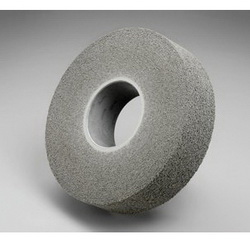 3M™ 048011-01679 LD-WL Convolute Light Deburring Wheel, 8 in Dia Wheel, 3 in Center Hole, 1 in W Face, Fine Grade, Silicon Carbide Abrasive