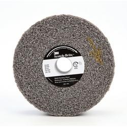 3M™ 048011-13178 MU-WL Convolute Multi-Finishing Wheel, 6 in Dia Wheel, 1 in Center Hole, 2 in W Face, Fine Grade, Silicon Carbide Abrasive