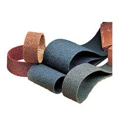 3M™ 048011-14398 SC-BS Backstand Coated File Scrim Surface Conditioning Coated Surface Conditioning Belt, 1 in W x 18 in L, Medium Grade, Aluminum Oxide Abrasive, Maroon