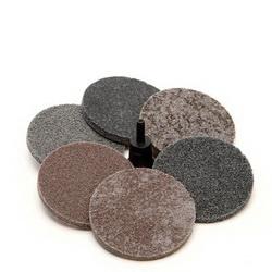 Scotch-Brite™ Roloc™ 048011-17182 Unitized Wheel Set, 7 Pieces, Aluminum Oxide/Silicon Carbide Abrasive, 3 in Dia Wheel/Disc, Coarse/Medium Grade, Quick-Change Connector