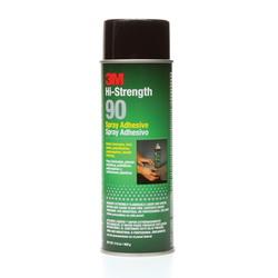 Scotch-Weld™ 021200-30023 High Strength Spray Adhesive, 24 fl-oz Aerosol Can, Clear, 250 deg F