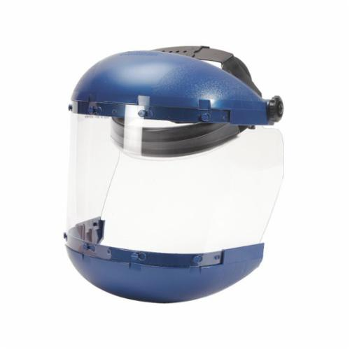 sellstrom® 38110 380 Faceshield Assembly, Clear Acetate 6 in H x 19 in W x 3/64 in THK Visor