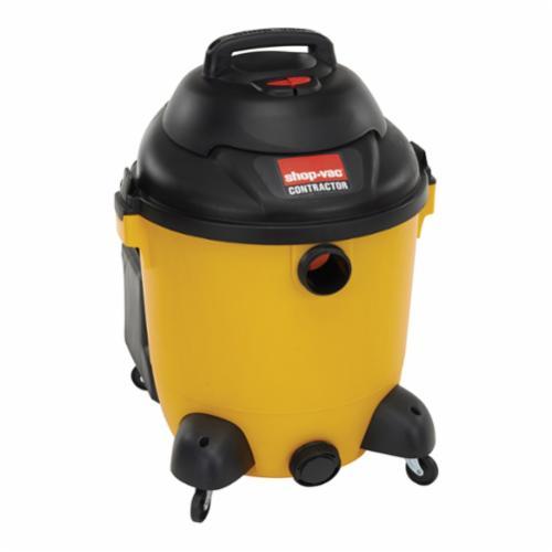 Shop-Vac® 9625110 Wet/Dry Vacuum, 11.3 A, 12 gal Tank, 5 hp Power Rating, 120 VAC, Poly Pro Housing