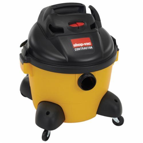 Shop-Vac® 9653610 Wet/Dry Vacuum, 8.4 A, 6 gal Tank, 6 hp Power Rating, 120 VAC, Poly Pro Housing