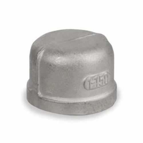 Smith-Cooper® S3114C 014 Pipe Cap, 1-1/2 in, FNPT, 150 lb, 304 Stainless Steel