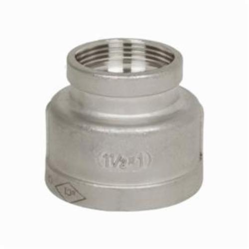 Smith-Cooper® S3114RC010006 Pipe Reducing Coupling, 1 x 3/4 in, FNPT, 150 lb, 304 Stainless Steel