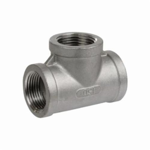 Smith-Cooper® S3114T 002 Pipe Tee, 1/4 in, FNPT, 150 lb, 304 Stainless Steel