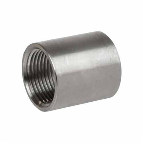 Smith-Cooper® S3114CP040 S3014CP Full Coupling, 4 in Nominal, FNPT End Style, 150 lb, 304 Stainless Steel
