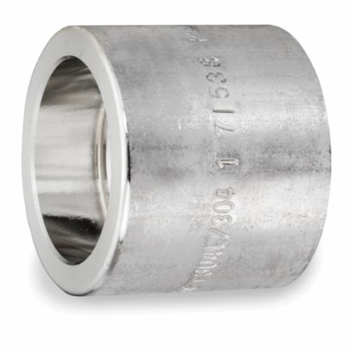 Smith-Cooper® S5034CP003 Full Coupling, 3/8 in, Socket Weld, 3000 lb, 304L Stainless Steel