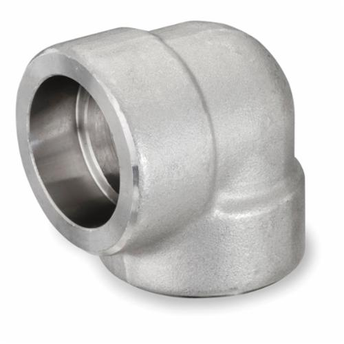 Smith-Cooper® S5034E 003 90 deg Elbow, 3/8 in, Socket Weld, 3000 lb, 304L Stainless Steel