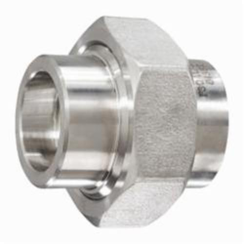 Smith-Cooper® S5034U 010 Pipe Union, 1 in, Socket Weld, 3000 lb, 304 Stainless Steel