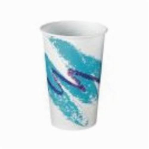 Solo® RW16J Jazz Cold Cup, 16 to 18 oz Capacity, Wax Coated Paper, Tide