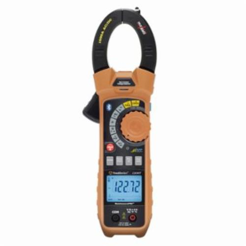 Southwire® MaintenancePRO™ 59686801 Auto-Ranging Smart Clamp Meter, 1000 VAC/VDC/1000 A, 50 MOhm, 10 MHz, 1-1/2 in Jaw, Backlit LCD Display