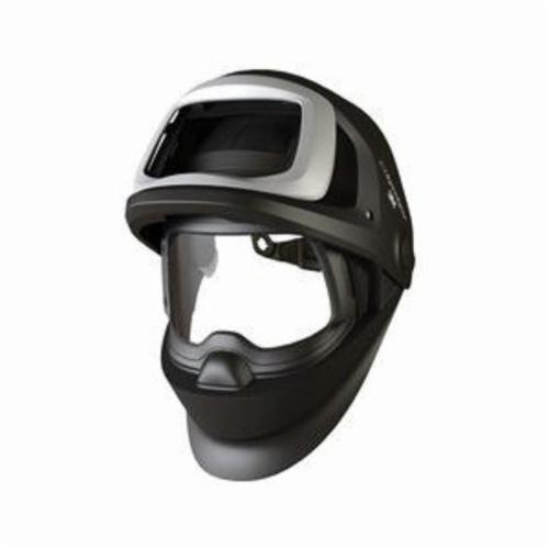Speedglas™ 051141-56404 9100FX-Air Flip Front Impact Resistant Replaceable Welding Helmet, 5 Lens Shade, Clear Visor, 8 x 4-1/4 in Viewing Area, Specifications Met: ANSI Z87.1-2010, CSA Z94.3, NIOSH Approved
