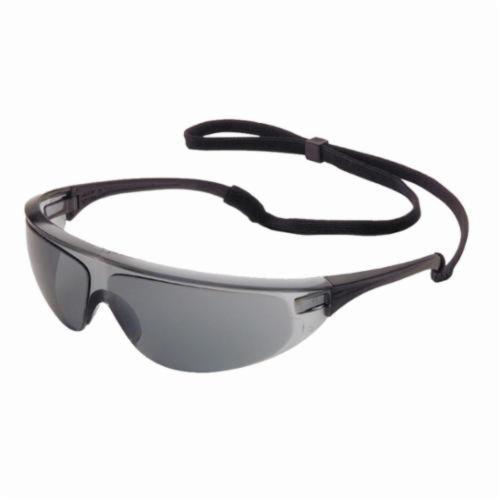 Sperian® by Honeywell 11150751 Millennia Sport™ Lightweight Safety Eyewear, Anti-Scratch TSR Gray Lens, Wraparound Black Nylon Frame, Polycarbonate Lens, Specifications Met: ANSI Z87.1-2010, CSA Z94.3