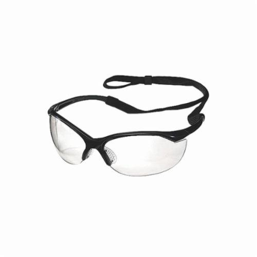 Sperian® by Honeywell 11150755 Millennia Sport™ Lightweight Safety Eyewear, Fog-Ban® Anti-Fog Clear Lens, Wraparound Black Nylon Frame, Polycarbonate Lens, Specifications Met: ANSI Z87.1-2010, CSA Z94.3