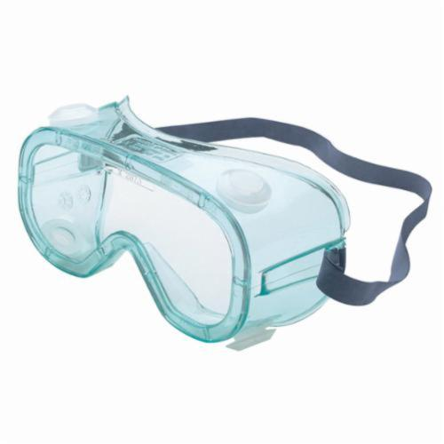 Sperian® by Honeywell A610S Indirect Vent Protective Goggles, Anti-Fog Clear Polycarbonate Lens, 99.99% % UV Protection, Elastic Strap, Specifications Met: ANSI Z87.1-2010, CSA Z94.3