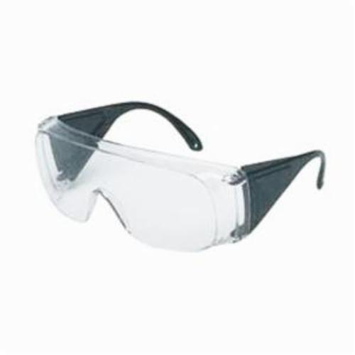 Sperian® by Honeywell 11180025W Visitorspec™ Safety Eyewear, Anti-Fog Clear Lens, Frameless Frosted Clear Polycarbonate Frame, Polycarbonate Lens, Specifications Met: ANSI Z87.1-2010, CSA Z94.3