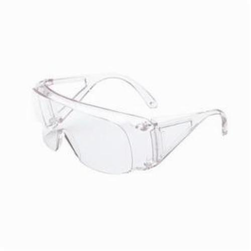 Sperian® by Honeywell 11180037 Polysafe®/Polysafe Plus Single Lens Protective Glasses, Anti-Scratch Clear Lens, Frameless Clear Polycarbonate Frame, Polycarbonate Lens, Specifications Met: ANSI Z87.1-2003, CSA Z94.3-2007