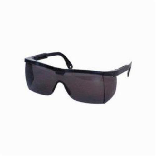 Sperian® by Honeywell A201 A200 Safety Eyewear, Anti-Scratch, Gray Lens, Wrap Around Frame, Black, Nylon Frame, Polycarbonate Lens, ANSI Z87.1-2010, CSA Z94.3