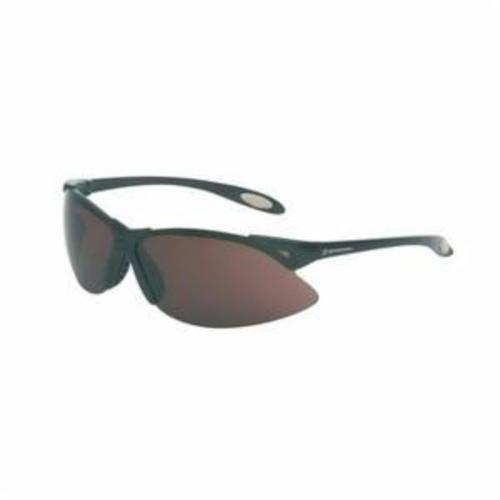 Sperian® by Honeywell A902 A900 Dual Lens Safety Eyewear, Anti-Scratch/Hard Coat, Gray Lens, Wrap Around Frame, Black, Polycarbonate Frame, Polycarbonate Lens, ANSI Z87.1-2010, CSA Z94.3